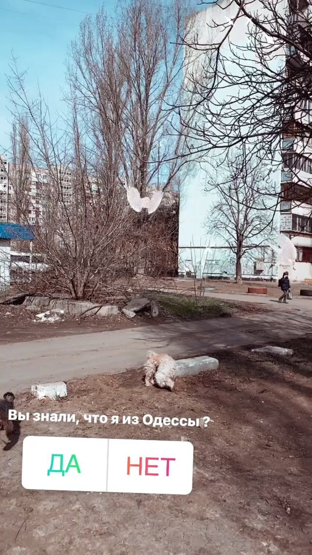 Тодоренко показала район Одеси, де вона народилася і виросла