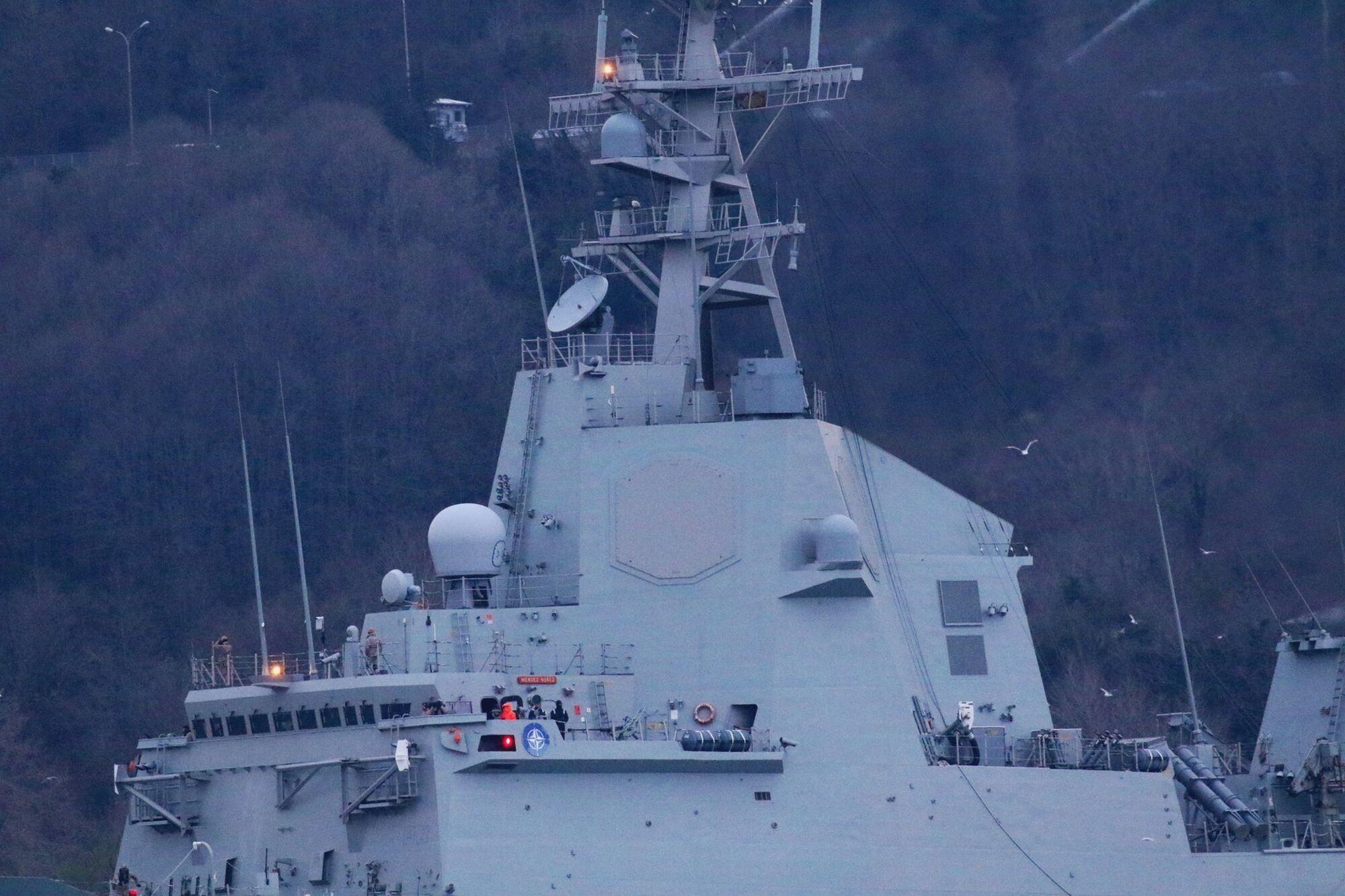Іспанський корабель НАТО Mendez Nuñez пройшов Босфор