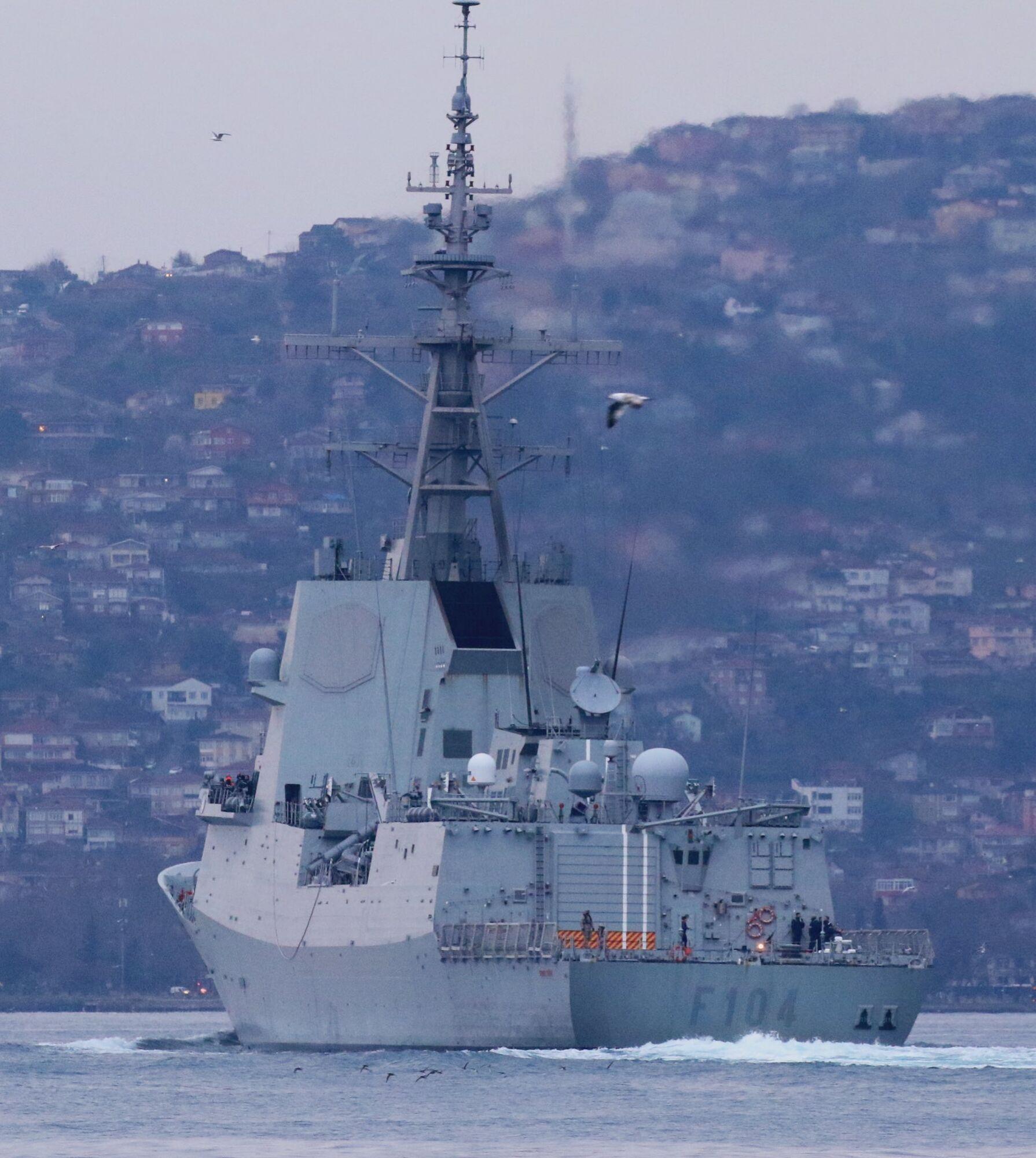Mendez Nuñez входить до флоту Іспанії