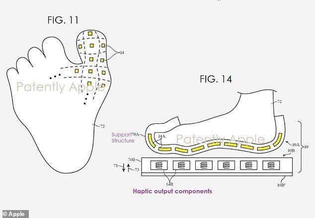 """Apple запатентовала """"умную обувь"""" для виртуальной реальности"""
