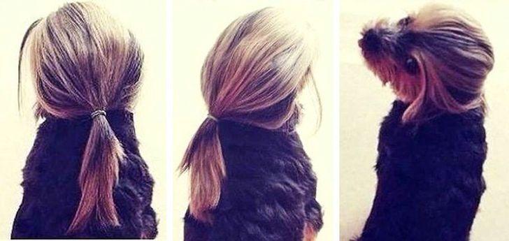 Незнайомка з чарівною зачіскою.