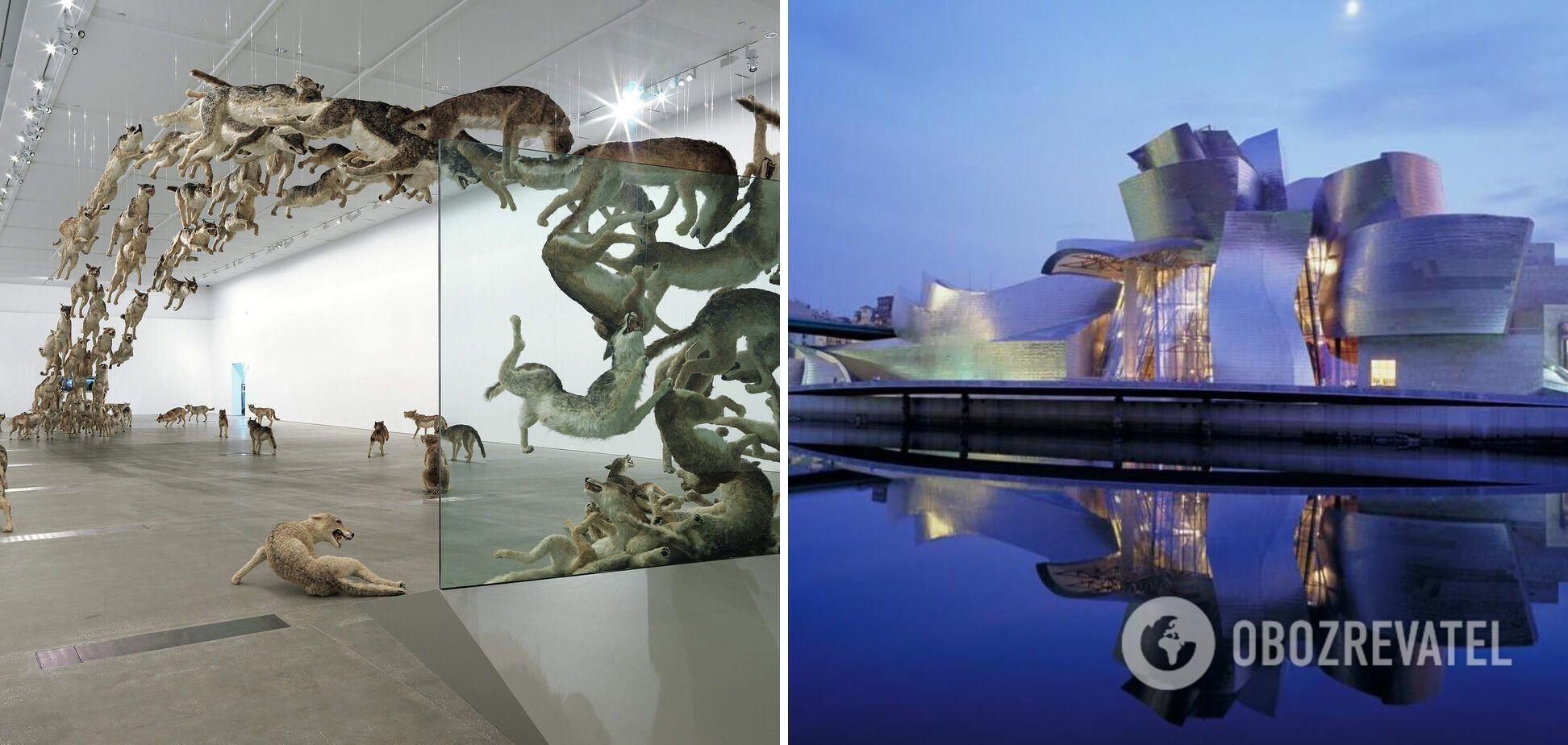 Музей в Испании похож на космический корабль.