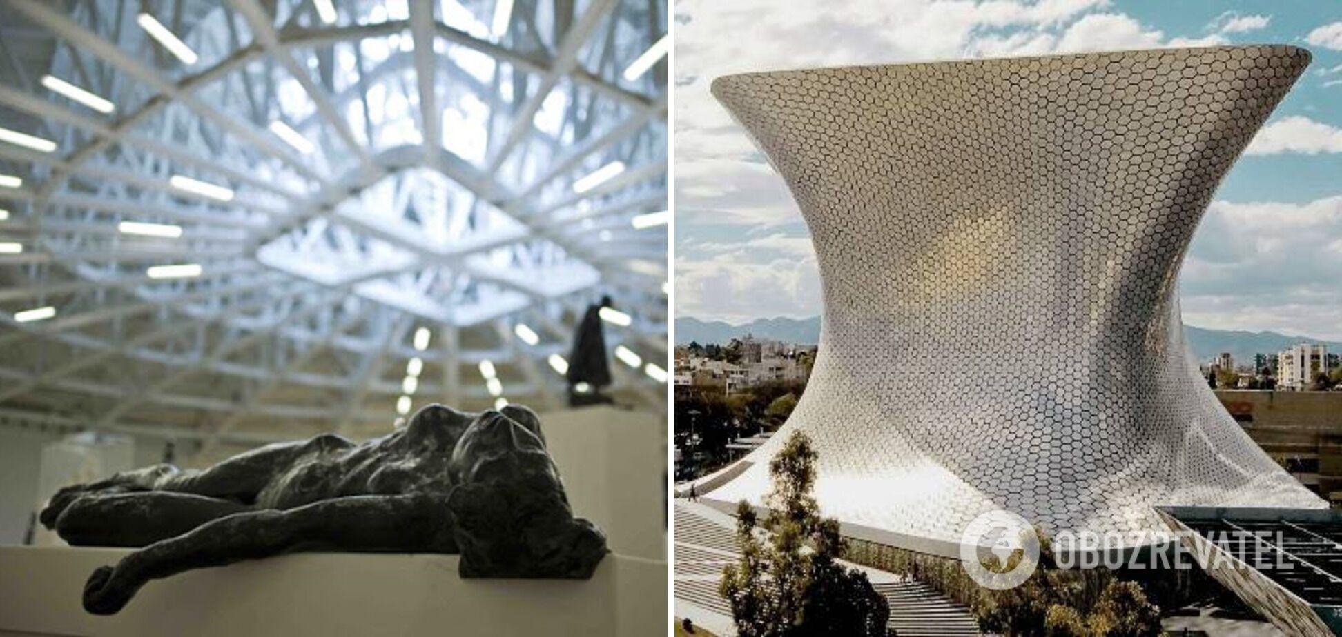 Мексиканский музей сочетает космическую архитектуру и редкие экспонаты.