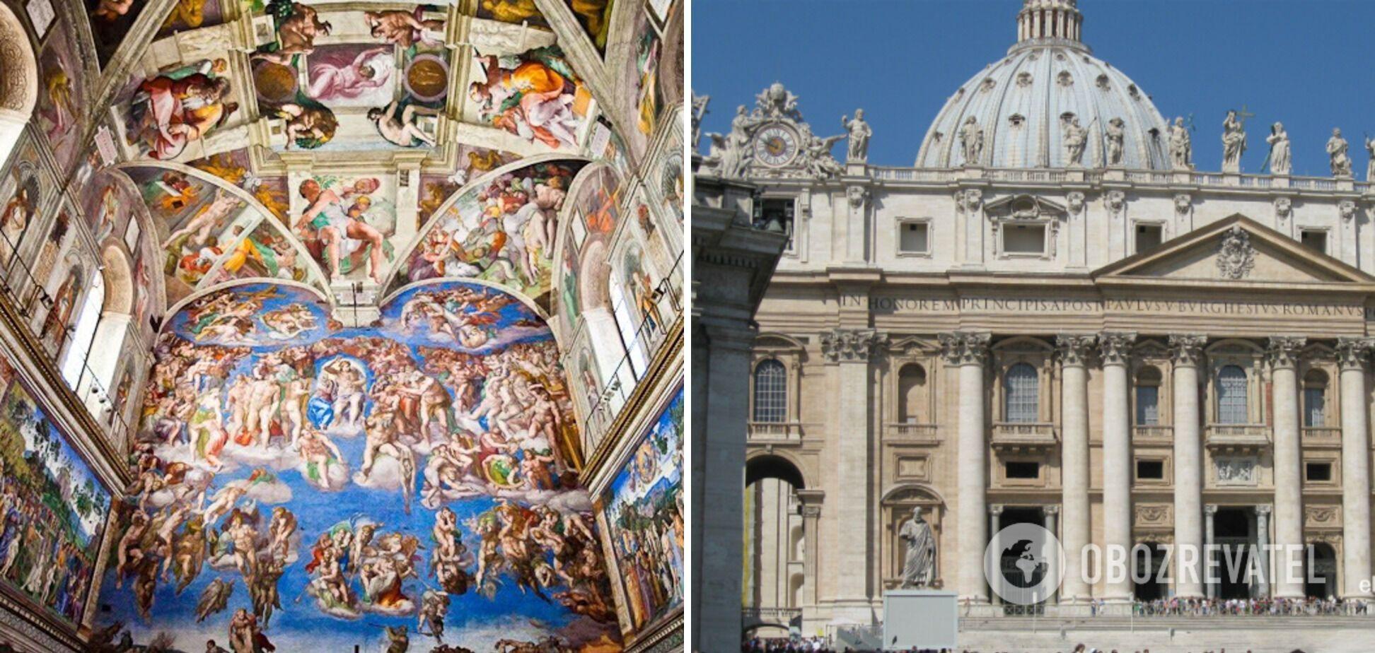 Музей в Ватикане – самый большой в мире.