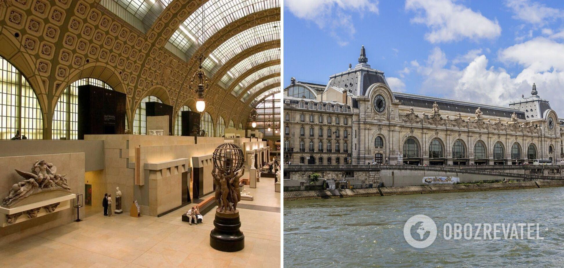 В музее хранится самая большая коллекция импрессионистических картин в мире.