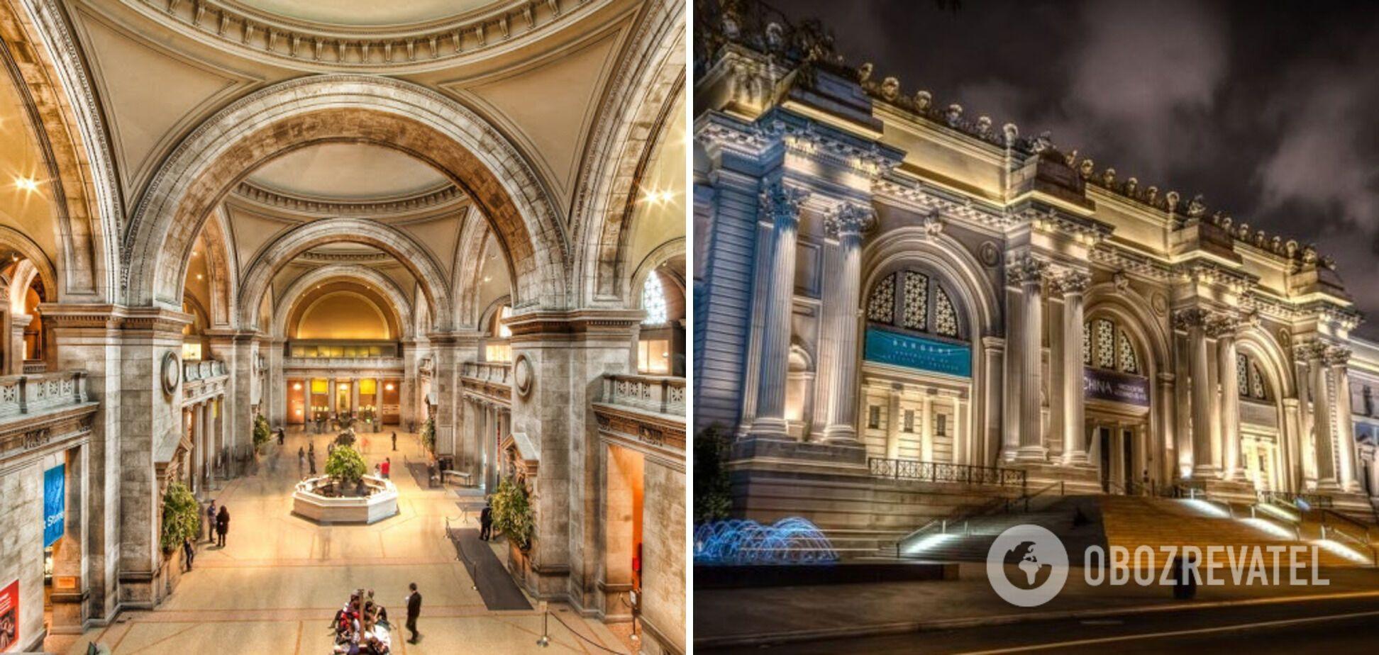 В Метрополитене США собраны экспозиции со всего мира.