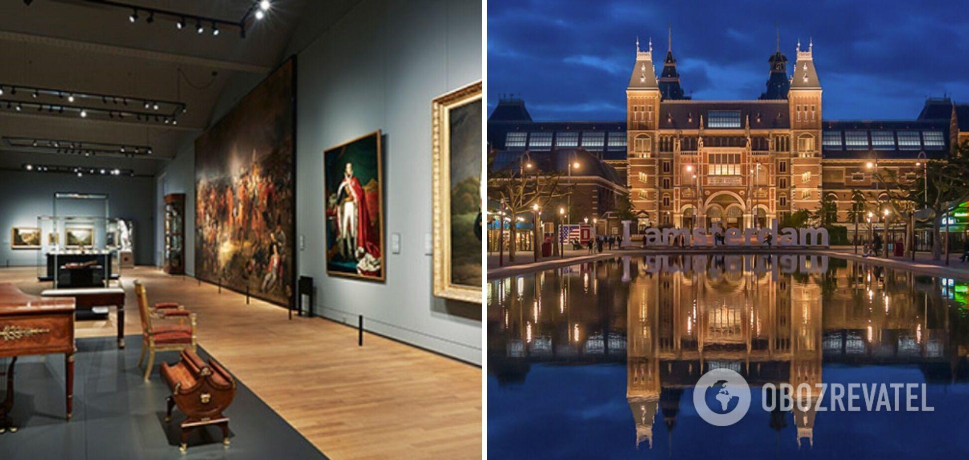 Музей в Нидерландах состоит из 200 залов.