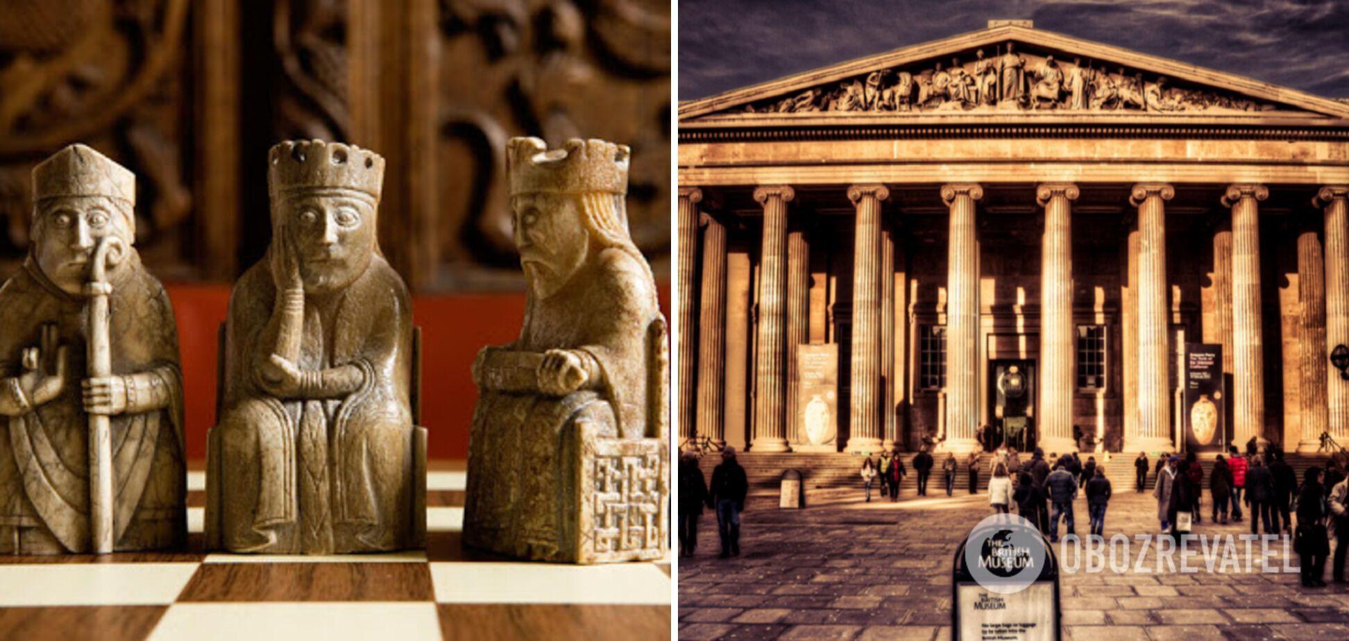 Британский музей иллюстрирует историю развития человечества.