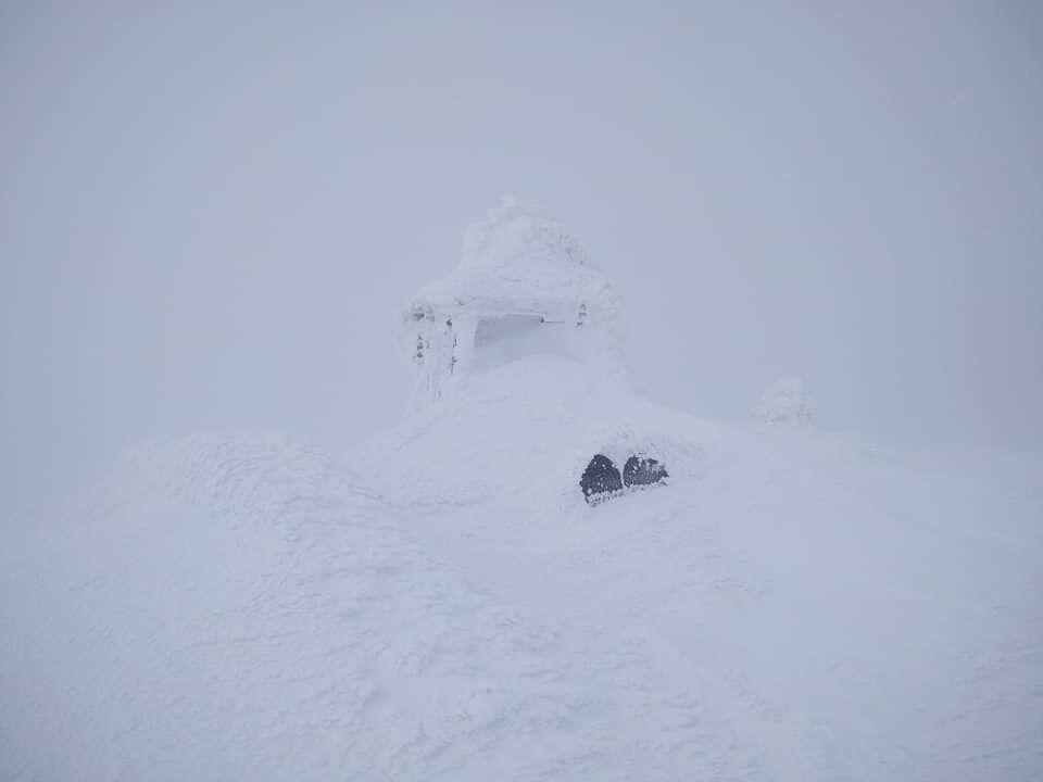 Температура в Карпатах упала до -10 градусов