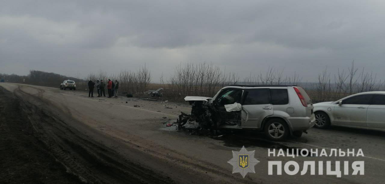 У ДТП постраждали шестеро осіб.
