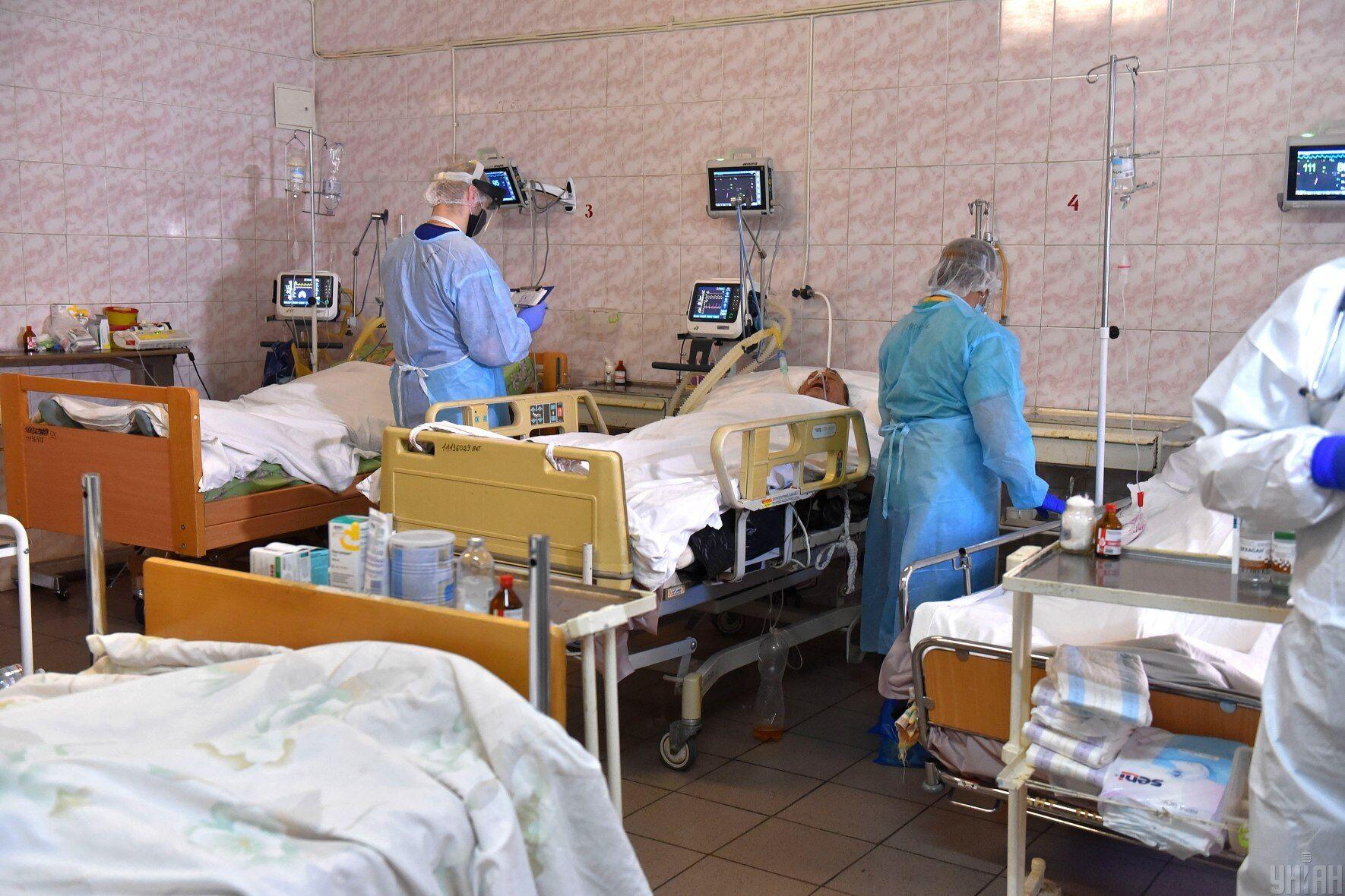 В Україні стрімко зростає кількість госпіталізацій пацієнтів із коронавірусною інфекцією.