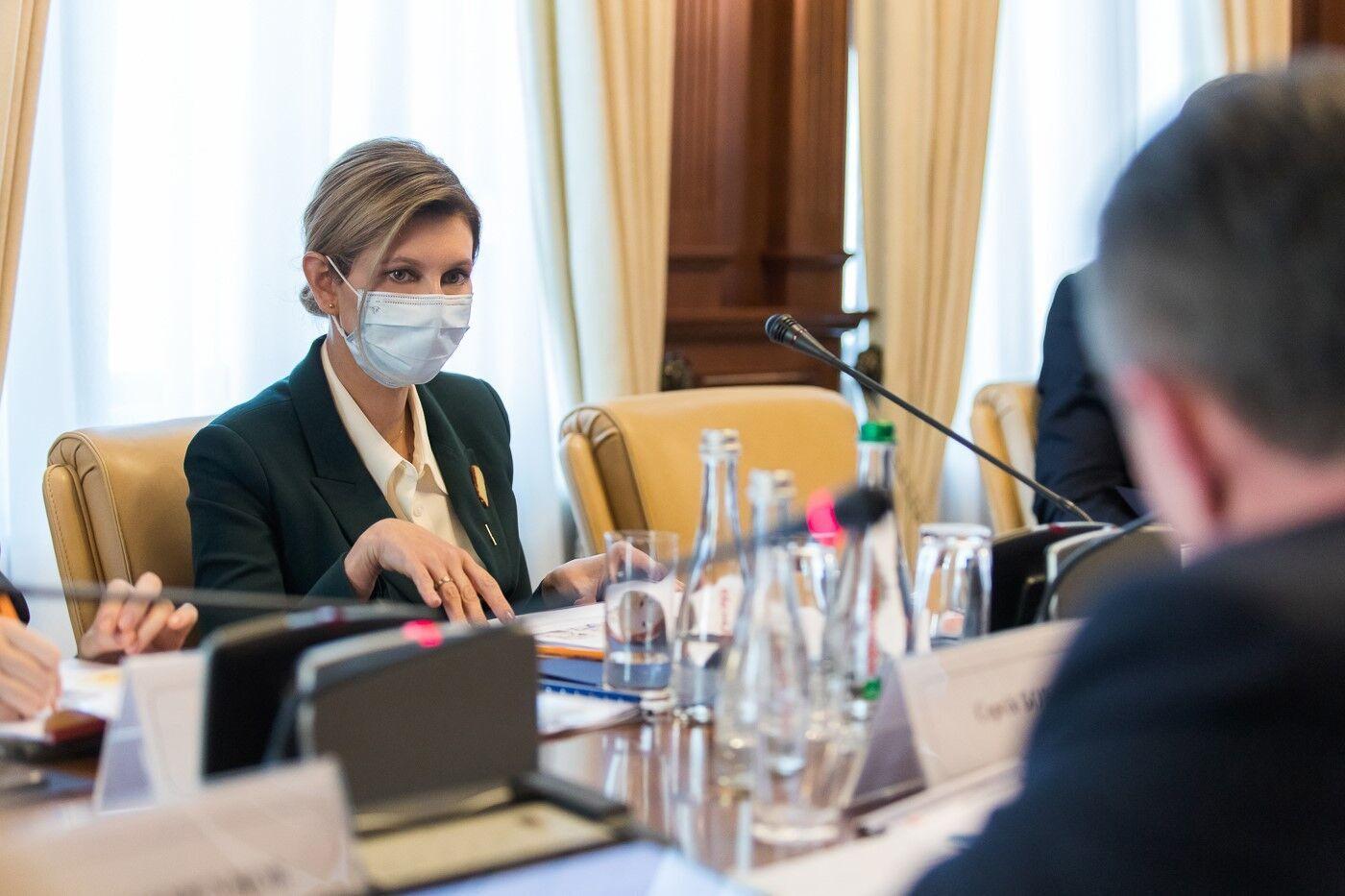 Зеленская показала новый образ на официальной встрече