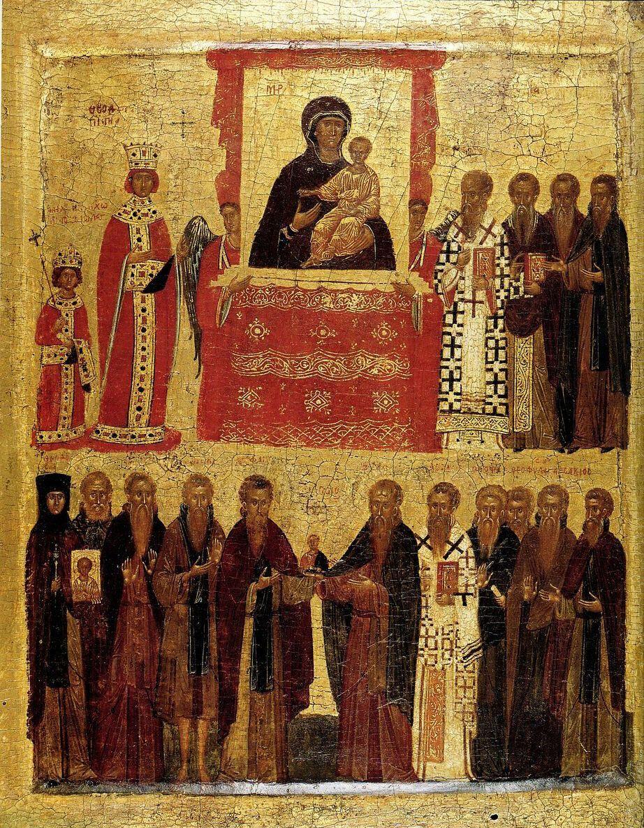 Торжество Православия принято праздновать в первое Воскресенье Великого Поста