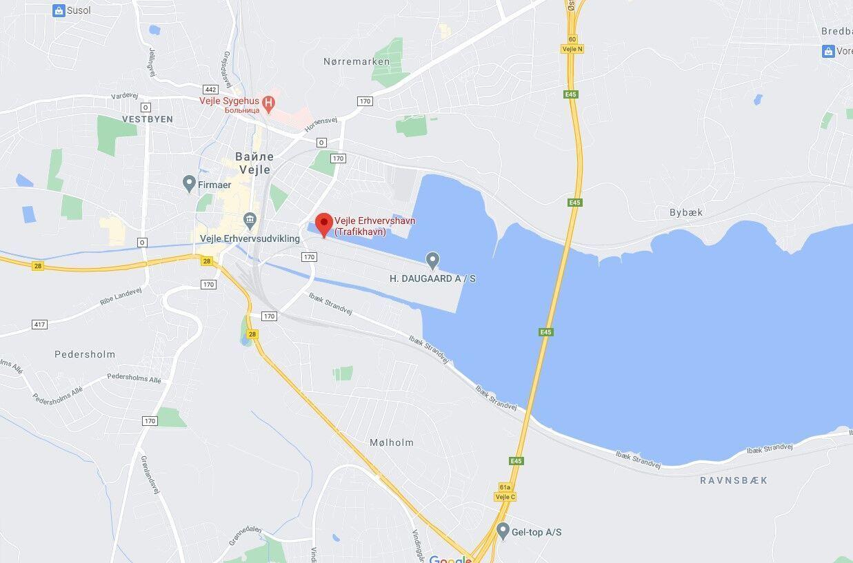 Українець загинув в датському порту Вайле.