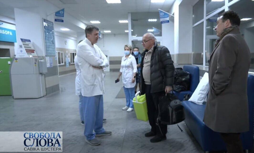Тодуров в запорожской больнице.