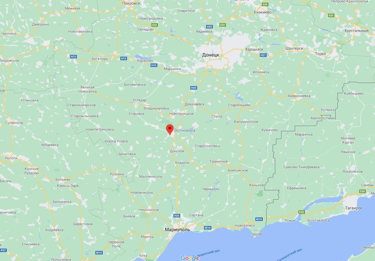 Гранату обнаружили в Волновахе.