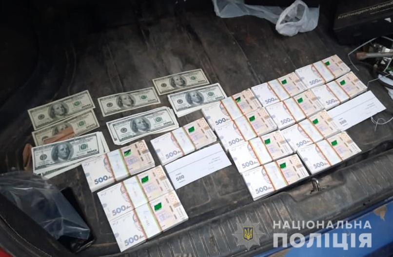 У низ нашли около 1,5 миллиона гривен.