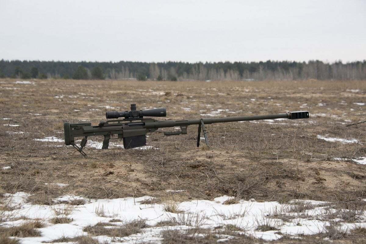 Гвинтівка Alligator.