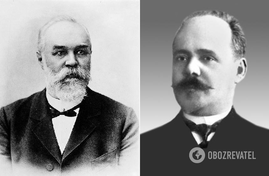 Карл Флюгге і Павло Лащенков