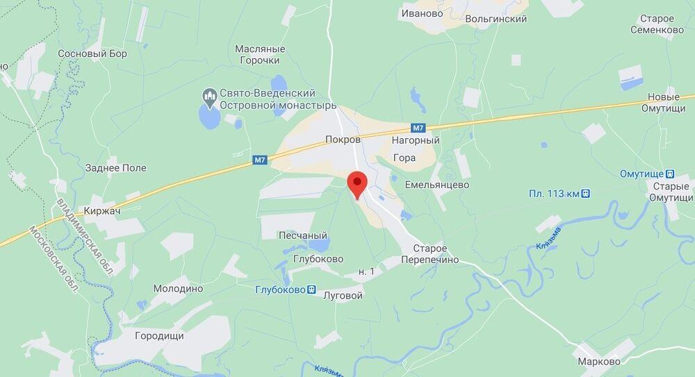 Учреждение на карте