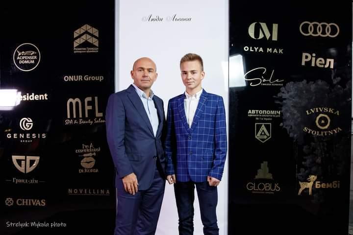 Олег Баляш вместе с сыном