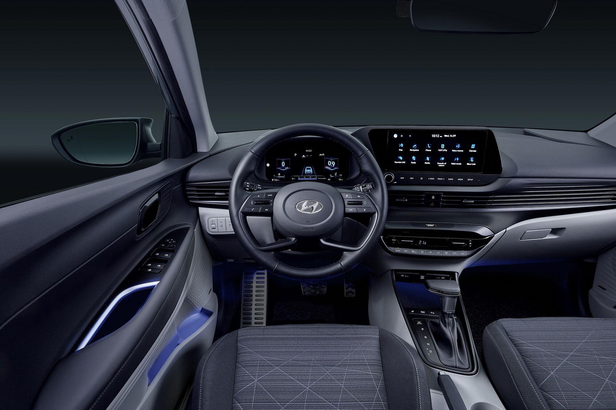 В салоне автомобиля нашли применение современные цифровые технологии