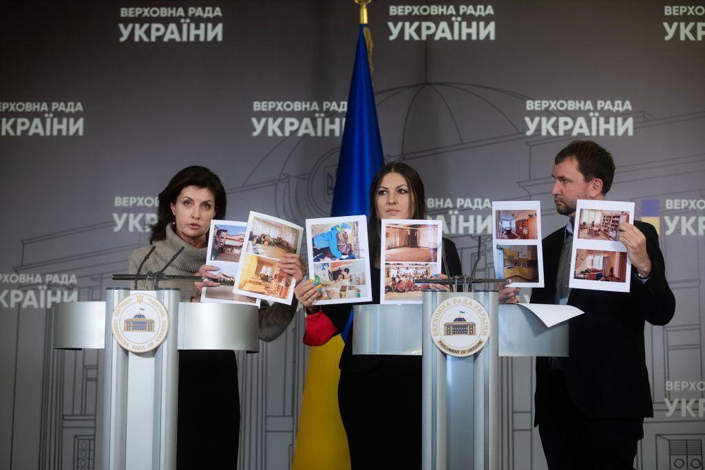 """Марина Порошенко поблагодарила членов фракции """"ЕС"""" за отстаивание интересов """"Теплого дома"""""""