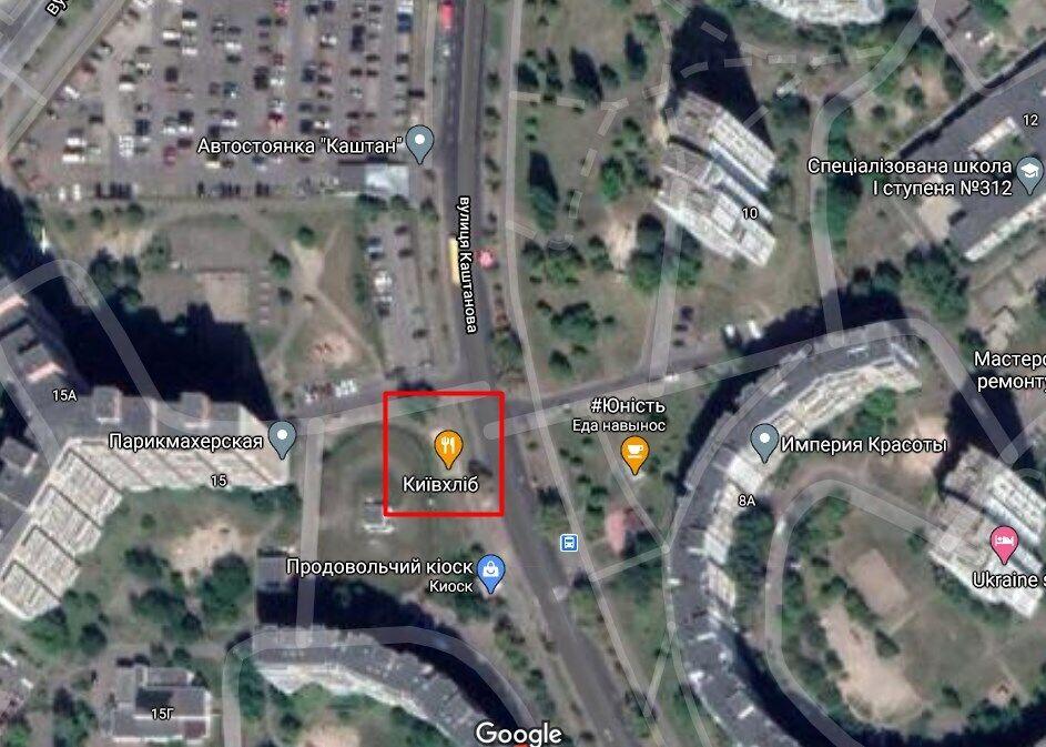 Нападение произошло на ул. Каштановой