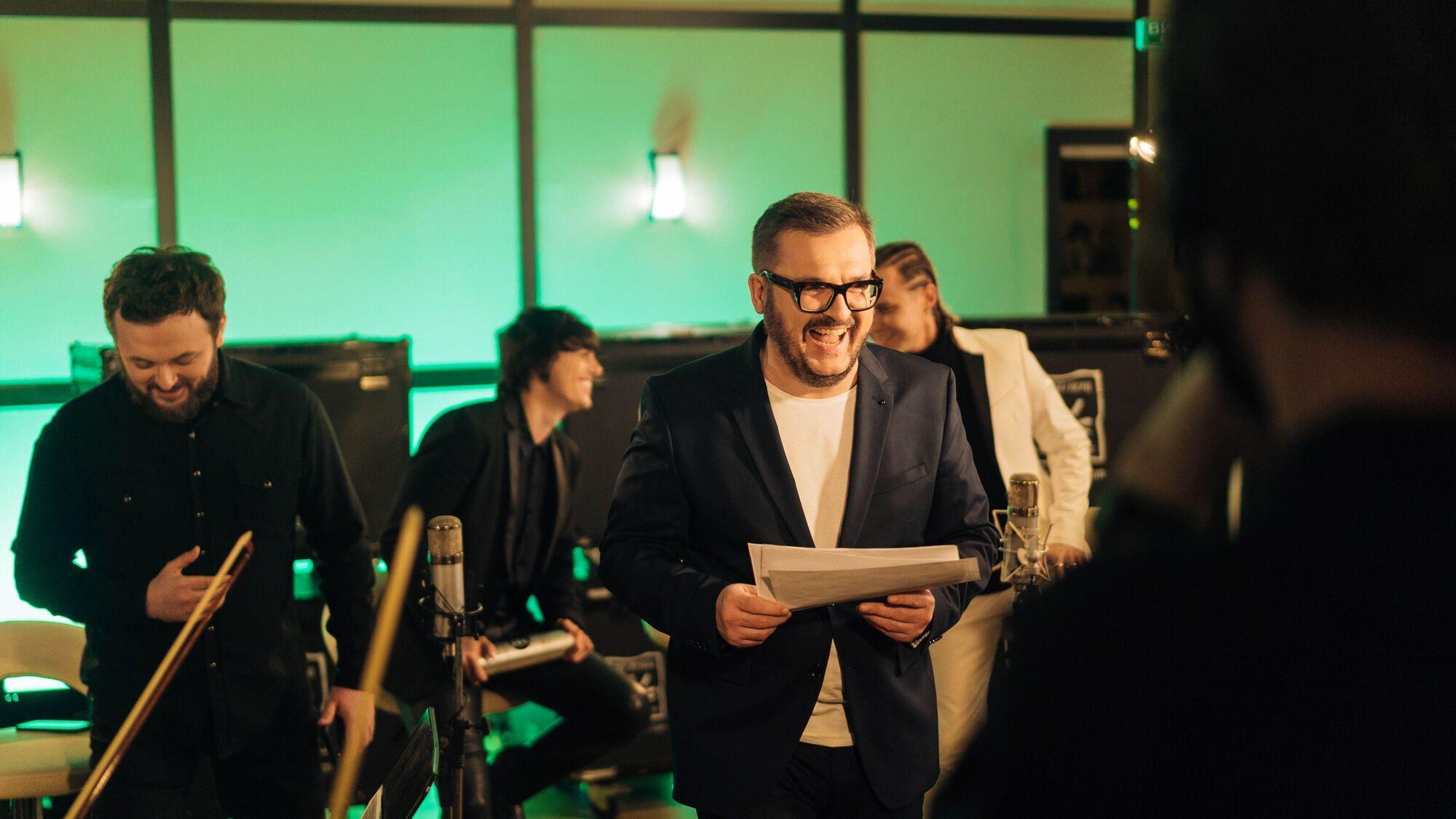 Пономарев презентовал песню с украинскими артистами