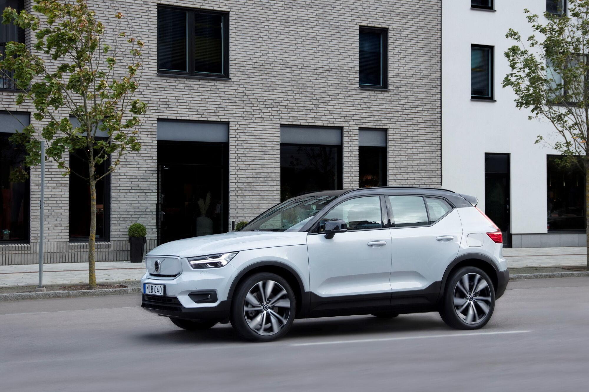 У минулому році Volvo Cars представила свій перший повністю електричний автомобіль XC40 Recharge