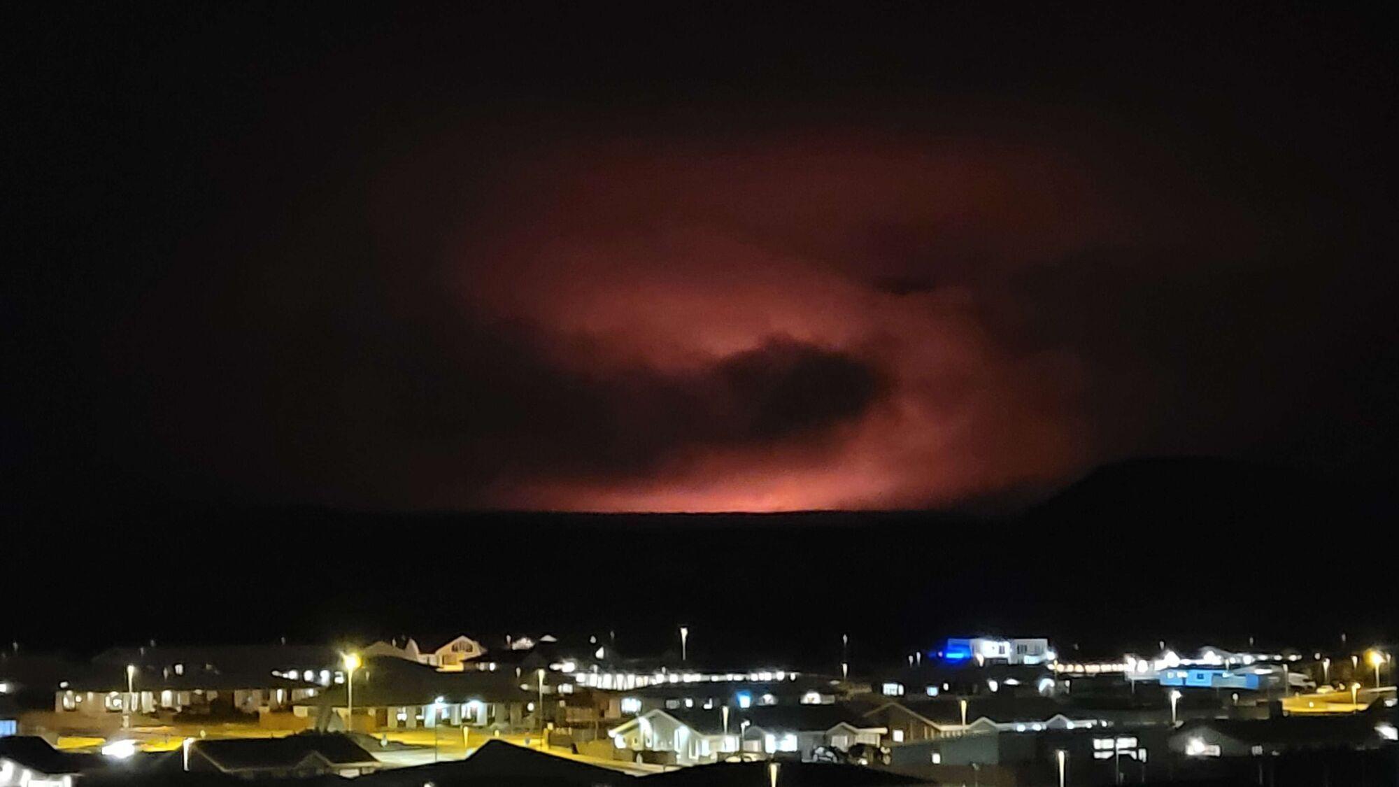 Виверження вулкана Фаградальсф'ядль