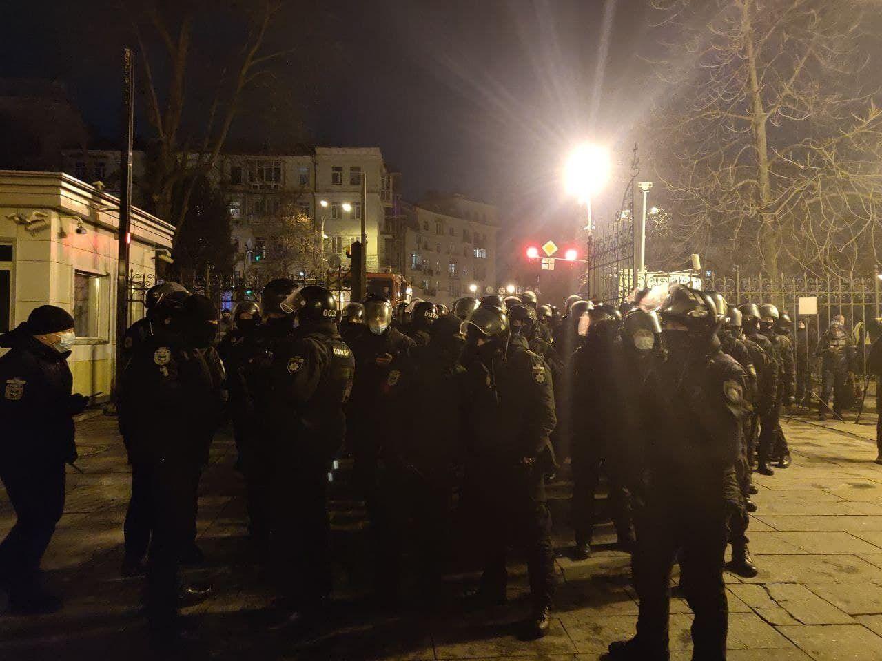 Акція протесту біля ОП