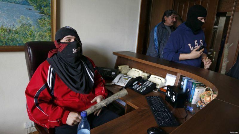 Захоплення адмінбудівель у Луганську ознаменувало початок війни