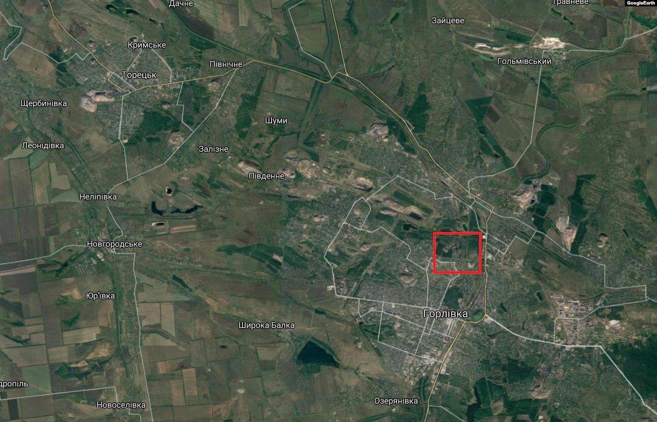 Горловка – неподконтрольна часть Донецкой области. Торецкое и Новгородское находятся под контролем правительства Украины
