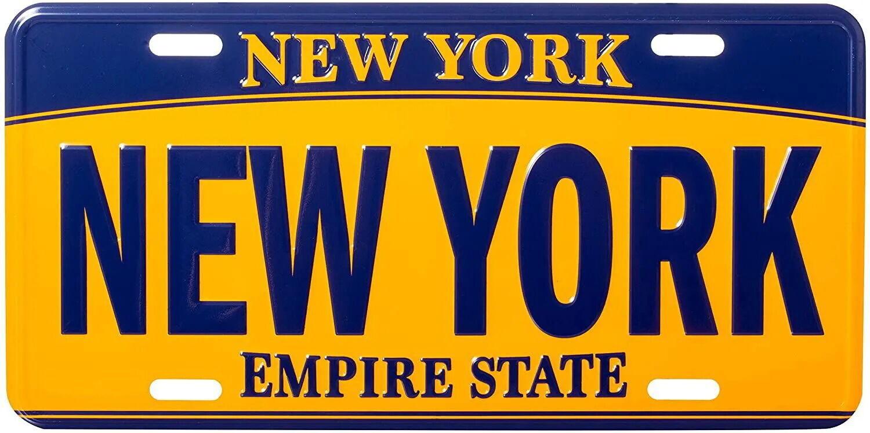 Номерні знаки New York оцінили у 20 млн доларів