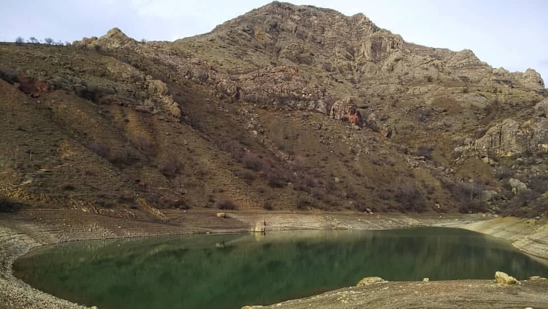 Горное озеро Панагия высохло