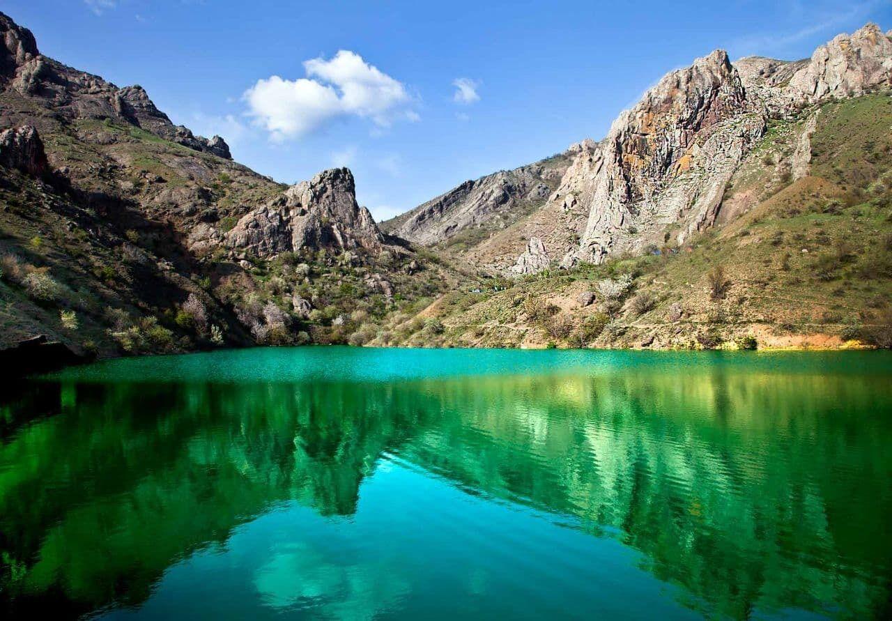 Как озеро панагия выглядело до обмеления
