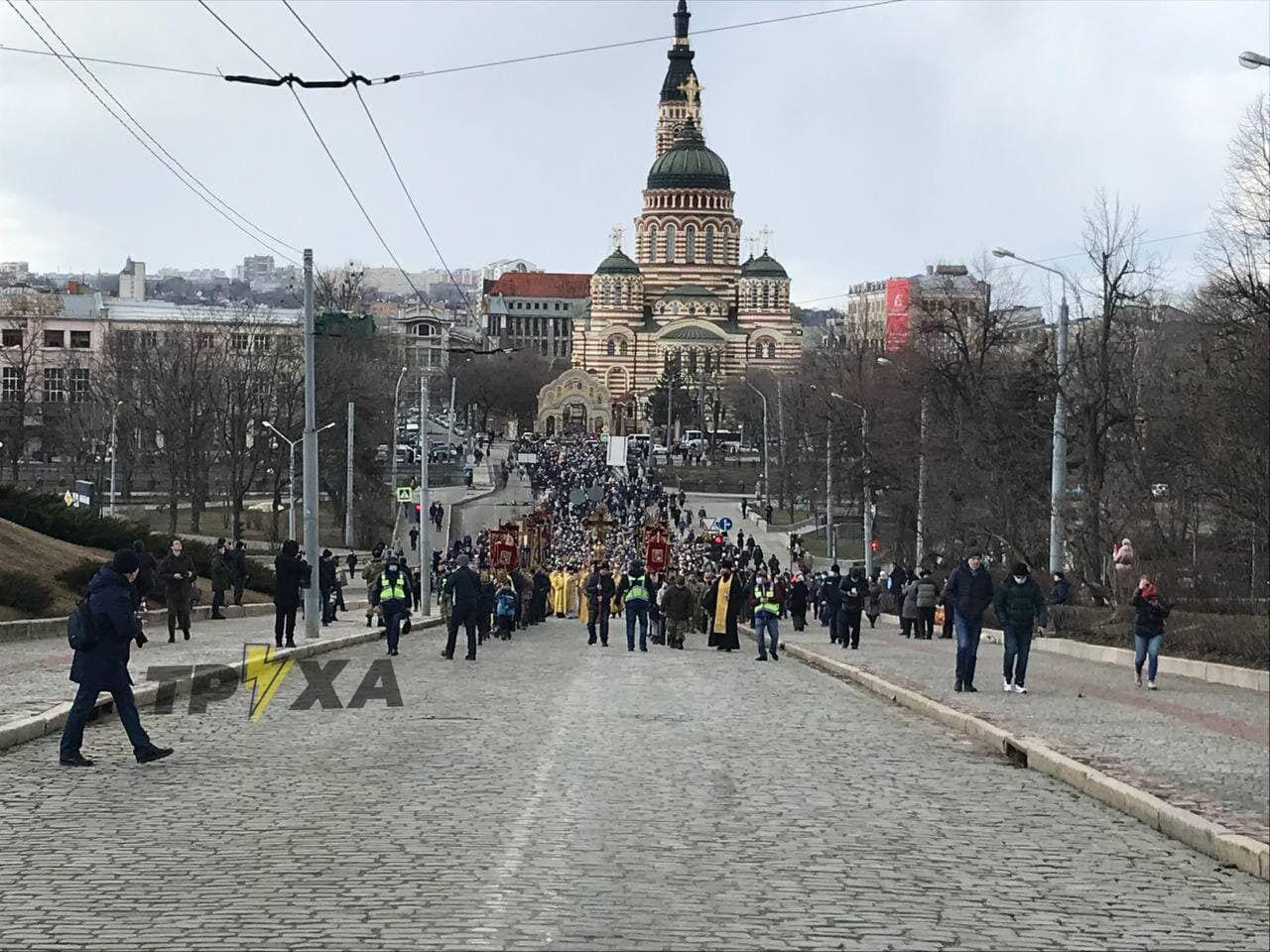 В Харькове 21 марта прошел Крестный ход