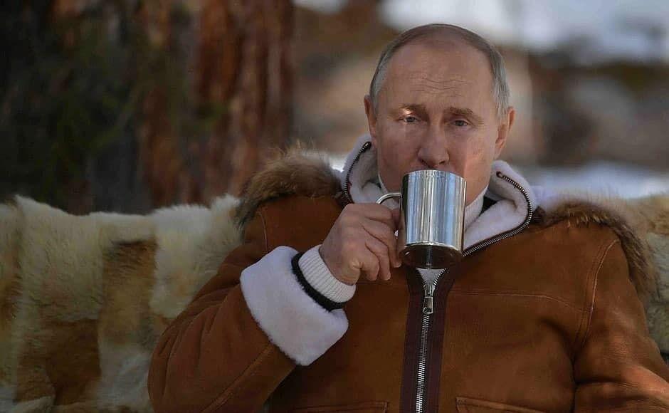 Путин провел выходные в Сибире