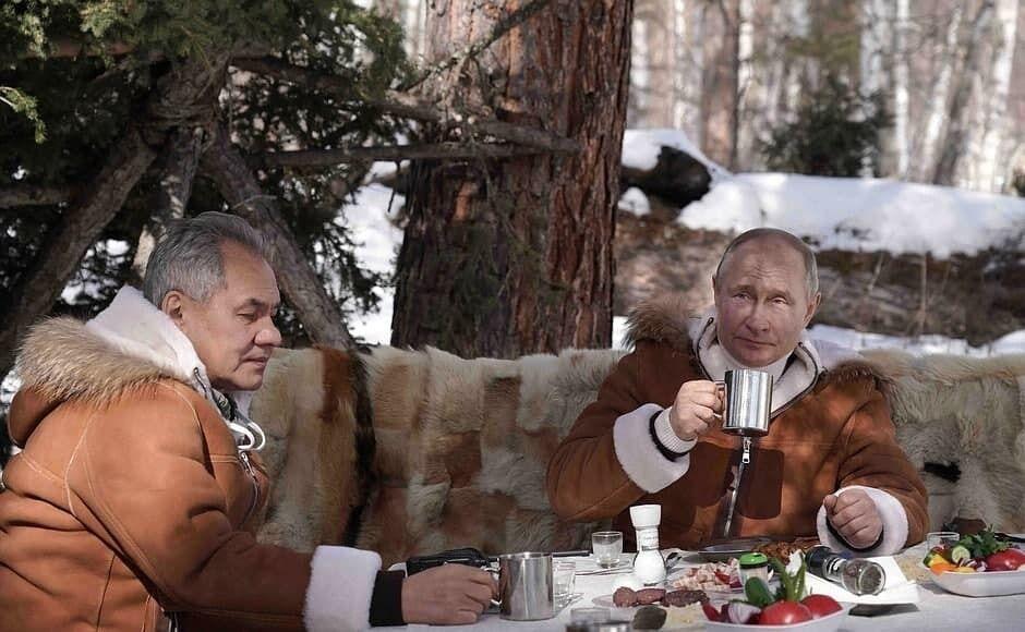 Путин и Шойгу провели выходные вместе