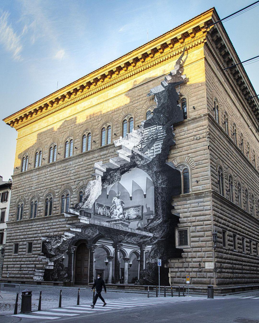 В Італії створили 28-метрову картину, присвячену карантину. Фото