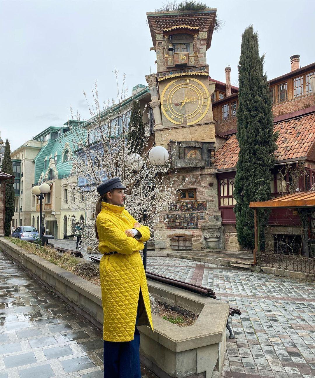 Осадчая показала столицу Грузии Тбилиси