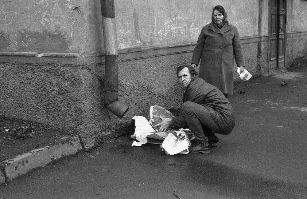 """""""Люди з м'ясом на вулиці Ентузіастів"""""""