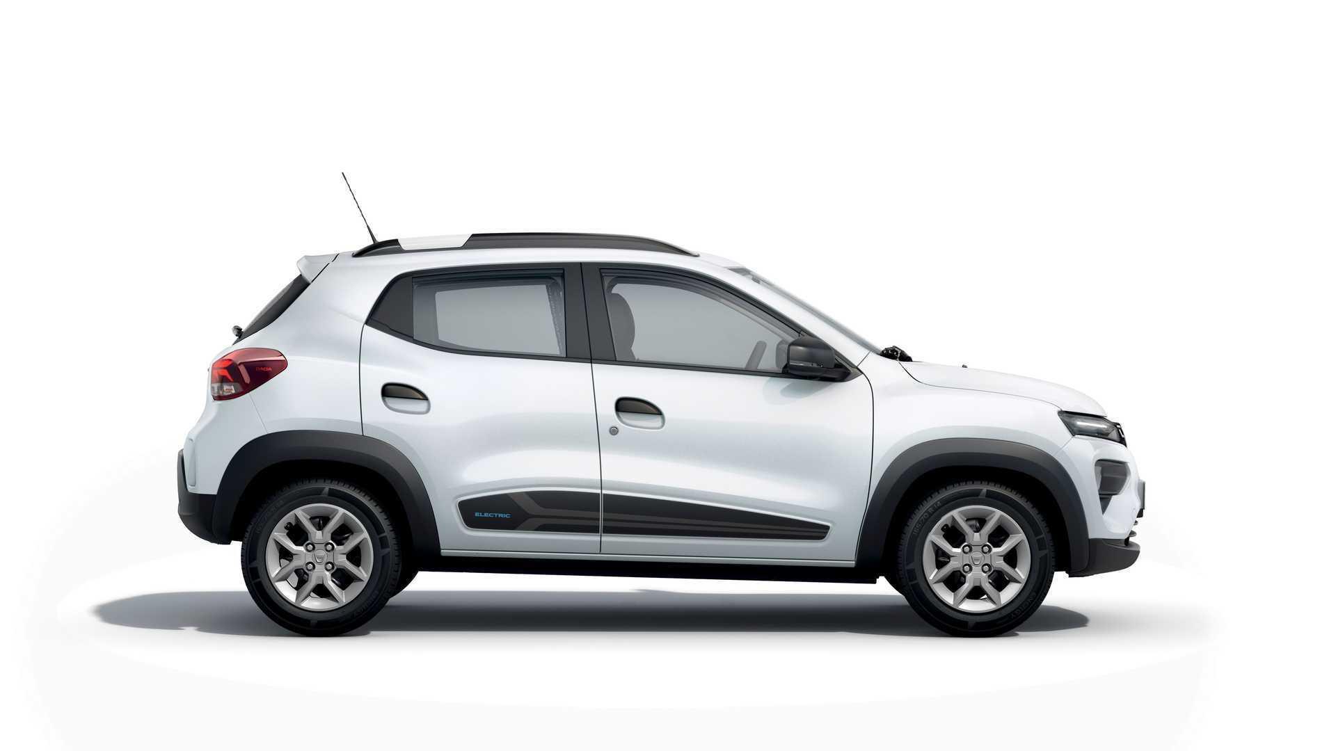Dacia Spring сможет проехать 230 км на одном заряде