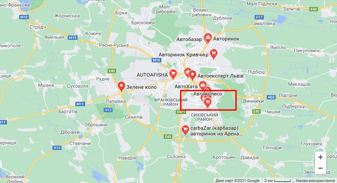 Район Львова, де трапилася смертельна ДТП з люком