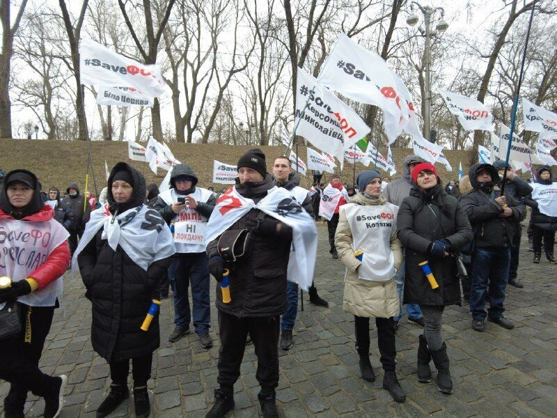 Несмотря на карантин, не все протестующие были в масках