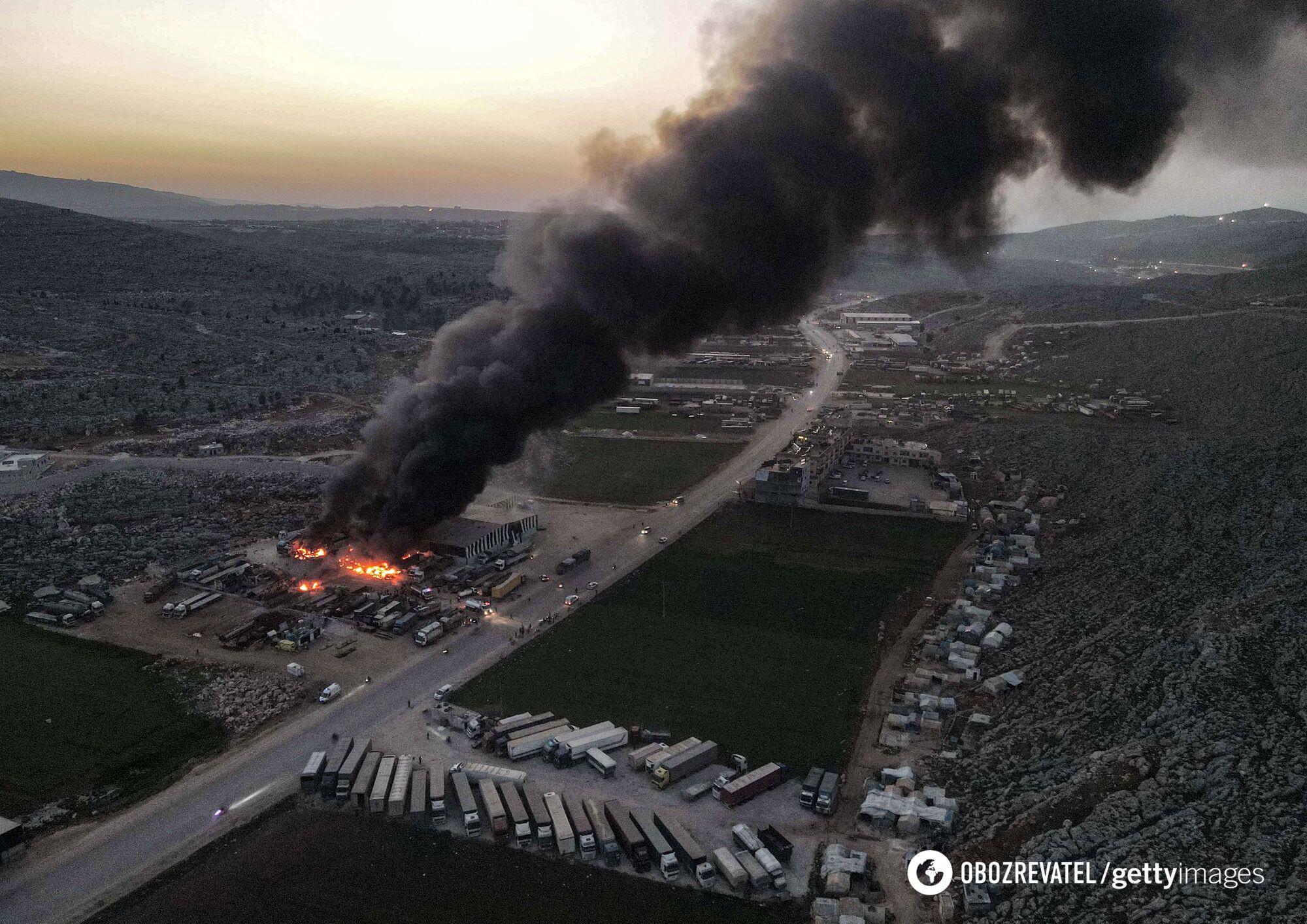 Російська авіація атакувала Ідліб у Сирії.