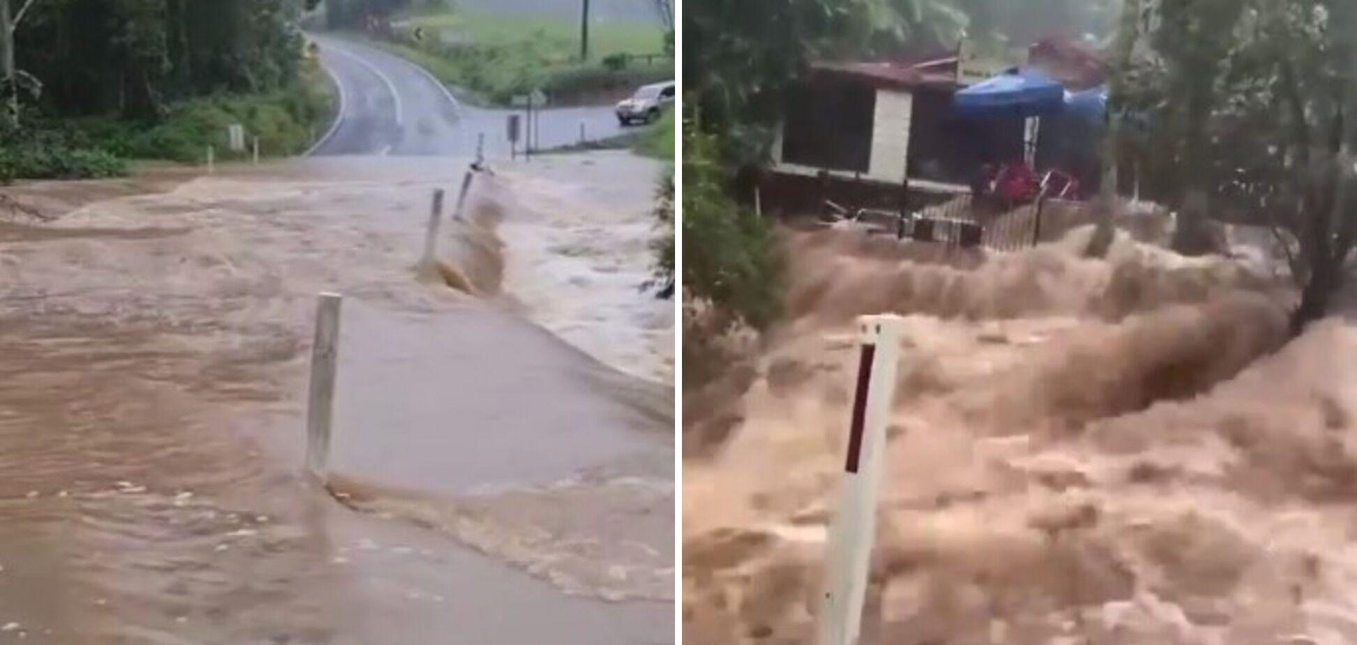 Річки вийшли з берегів в Австралії.