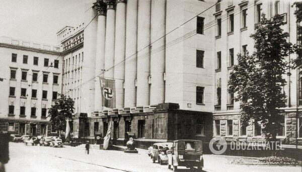 Будівлю використовували й нацисти