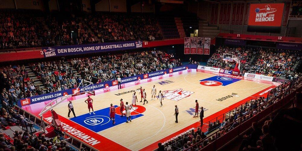 Арена в Maaspoort Den Bosch в Хертогенбосе.